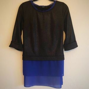 Anthropologie Amadi Top 3/4 Sleeves Size Small